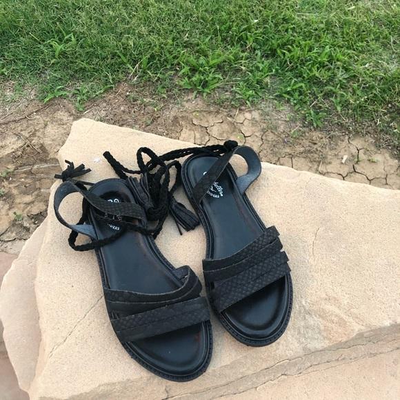 Seychelles Shoes - Seychelles Botanical Tassel Wraparound Sandal